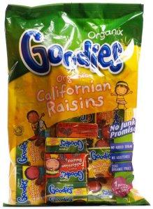 Organix Goodies Californian Raisins 250g