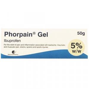 Phorpain Ibuprofen Gel 50g