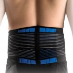 Patterson Neoprene Lumbar Brace Double Pull Large