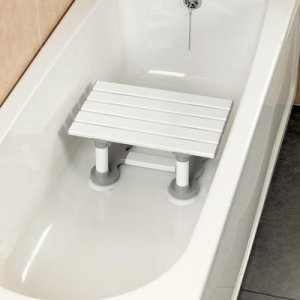 Patterson Bath Seat Savanah Slatted 12''/30cm