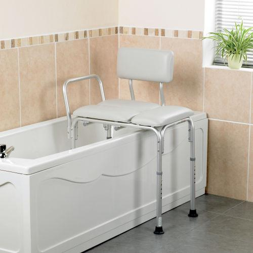 Patterson Bath Transfer Bench Padded
