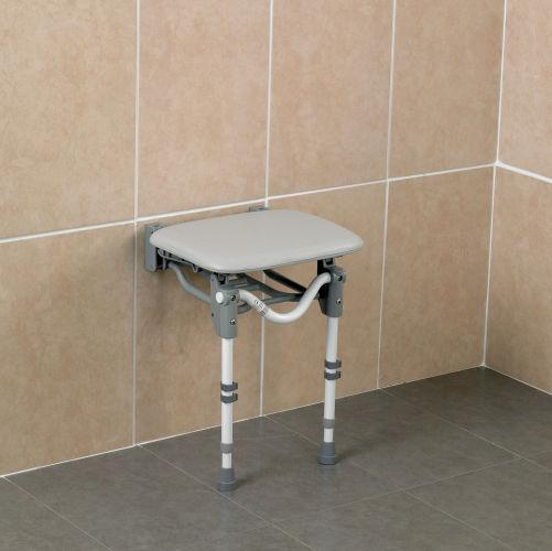 Patterson Wall Mounted Shower Seat Padded Standard