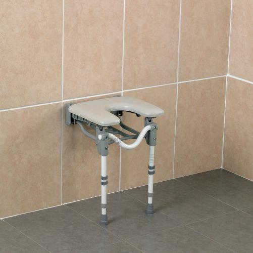 Patterson Horseshoe Padded Shower Seat