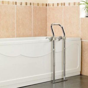 Patterson Bath Side Rail Swedish MKII Chrome