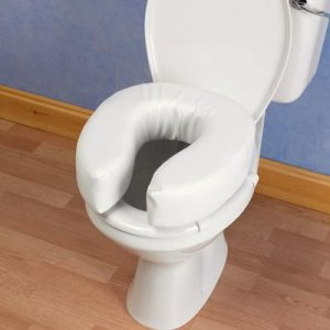 Patterson Padded Raised Toilet Seat 10cm/4''