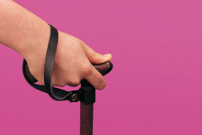 Patterson Walking Stick Leather Wrist Strap