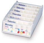 Patterson Weekly Pill Organiser White