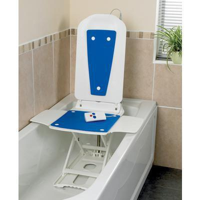 Patterson Bathmaster Bathlift with Blue Cover