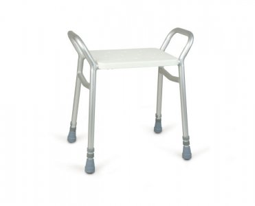 Patterson Lightweight Adjustable Height Shower Stool