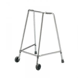 Patterson Walking Frame Wheeled Narrow Large