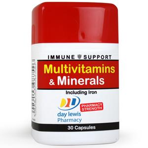 Day Lewis Multivitamins & Minerals Capsules Pack of 30