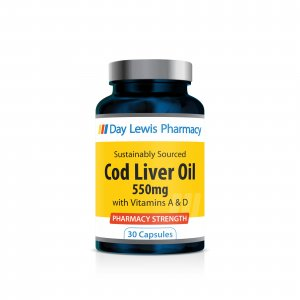 Day Lewis Cod Liver Oil 550mg Capsules Pack of 30