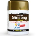 Day Lewis Korean Ginseng Tablets Pack of 30