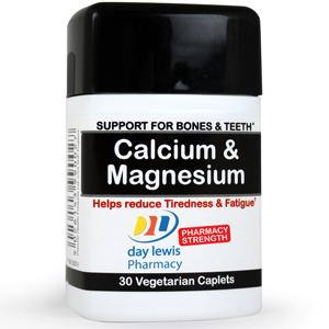 Day Lewis Calcium & Magnesium Caplets Pack of 30