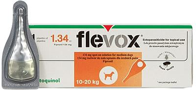 Flevox Spot on Dog 1.34ml pack of 6