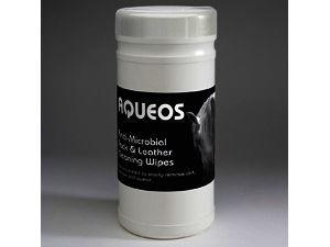 Aqueos Anti-Microbial Tack & Leather Cleaning Wipes Pack of 200
