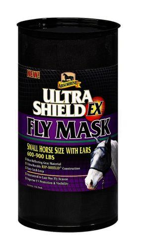Absorbine UltraShield EX Fly Mask with Ears for Small Horses