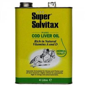 Super Solvitax Pure Cod Liver Oil 4 Litre