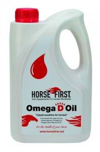 Horse First Omega D Oil 4 Litre
