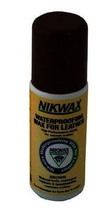 Nikwax Waterproofing Wax for Leather Liquid Brown 125ml