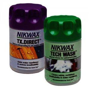 Nikwax Tech Wash & TX.Direct Wash-In 150ml x 2