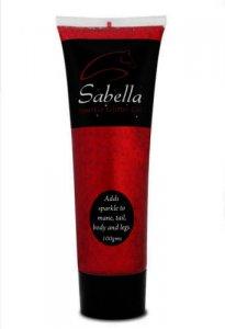 Sabella Glitter Gel Red 100ml