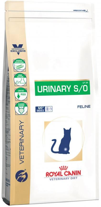 Royal Canin Feline Urinary S/O Diabetic Feed 1.5kg